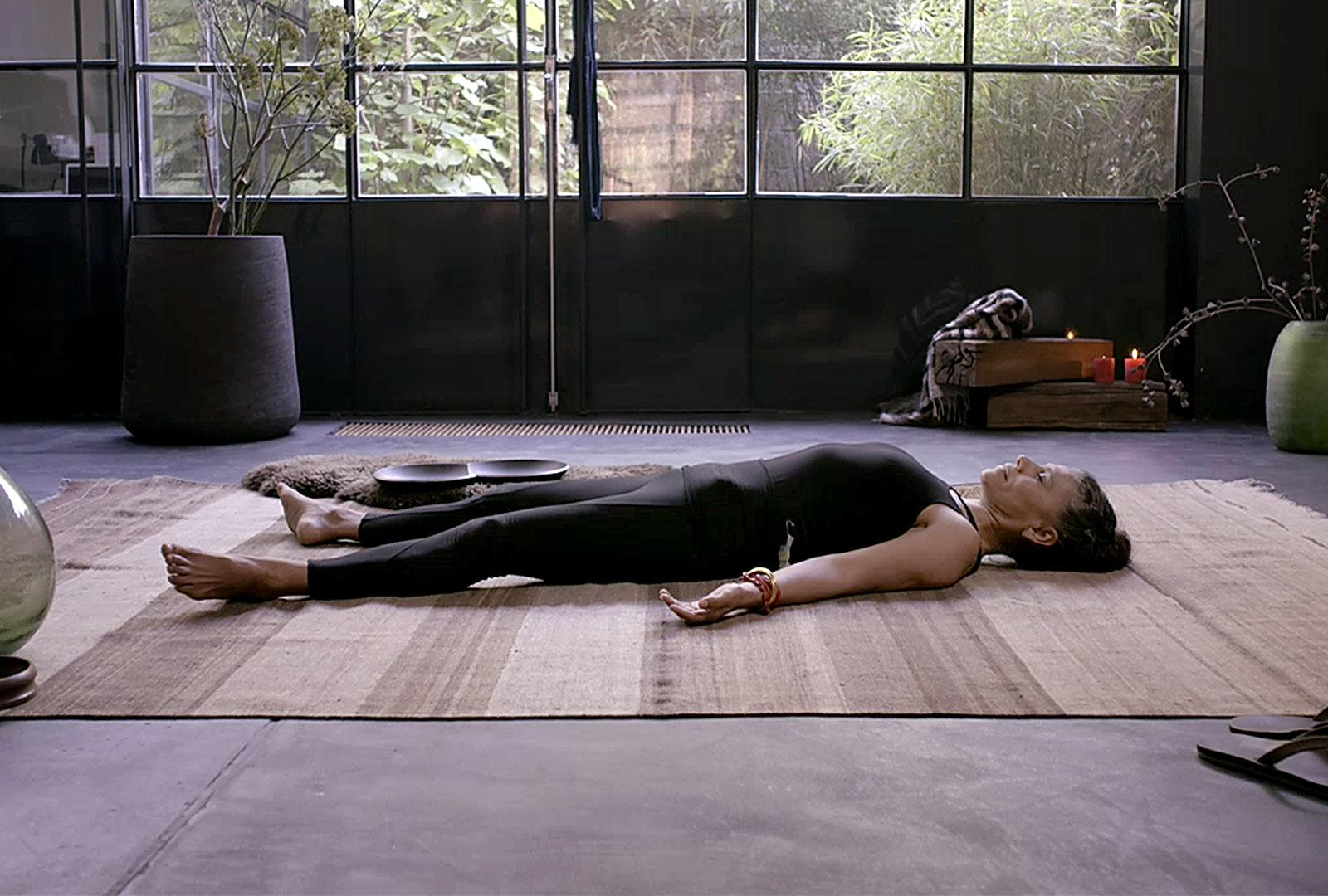 Savasana - Always on time for a practice